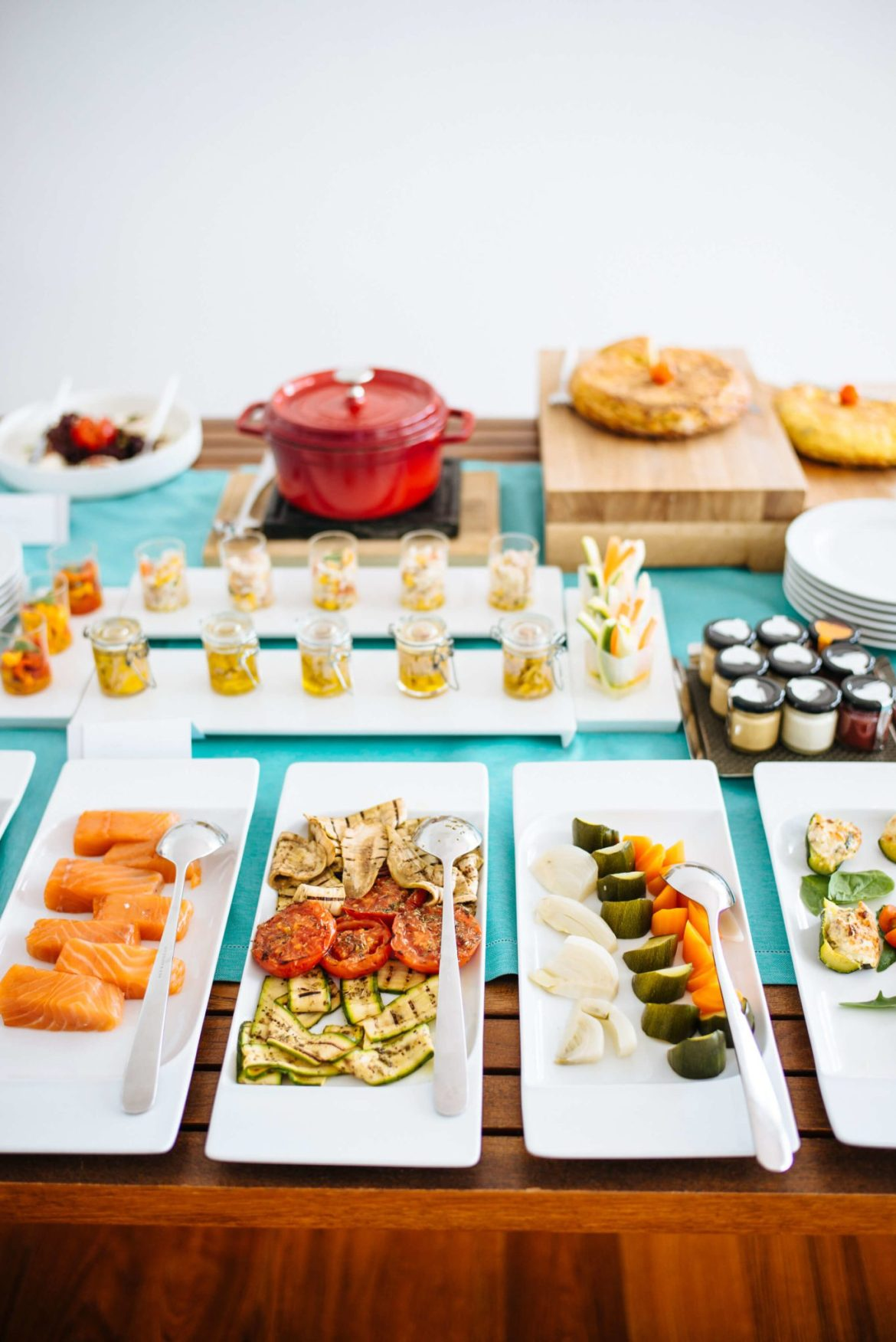 Assortment of delicious Italian breakfast items at Casa Angelina Lifestyle Hotel in Praiano Italy, The Taste Edit