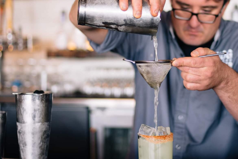 Bar Manager Saul Ranella Makes the Marshall Margarita at San Francisco's Hog Island Oyster Company, The Taste Edit
