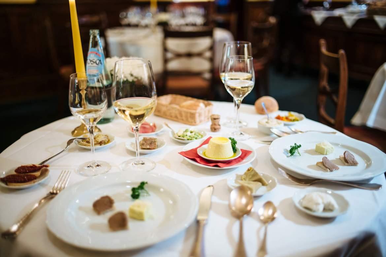 A spread of seasonal antipasti from the Chef Fabio Picchi at Ristorante Cibreo in Florence, The Taste Edit