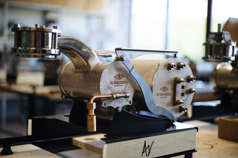 La Marzocco GS3 Espresso machine from La Marzocco Factory Tour in Florence, The Taste Edit