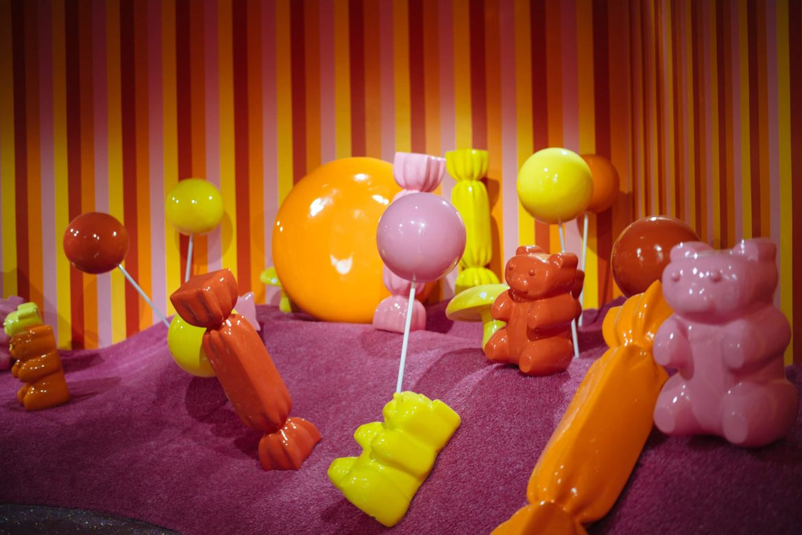 Gummy Bear Candy Garden Room at The Museum of Ice Cream San Francisco, The Taste Edit
