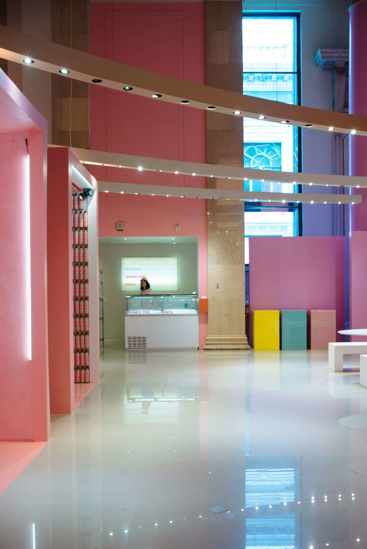 Instagramable photo rooms, banana swings, The Museum of Ice Cream San Francisco, The Taste Edit