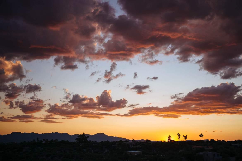 Tucson Arizona Sunset, The Taste Edit