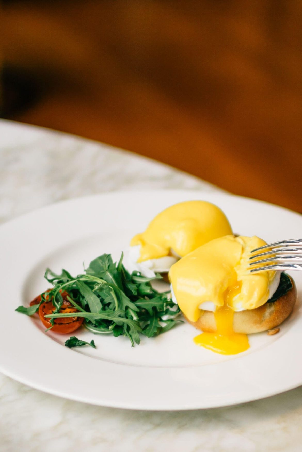 Breakfast at Hotel Bulgari Milano, try the benedict with spinach, The Taste Edit
