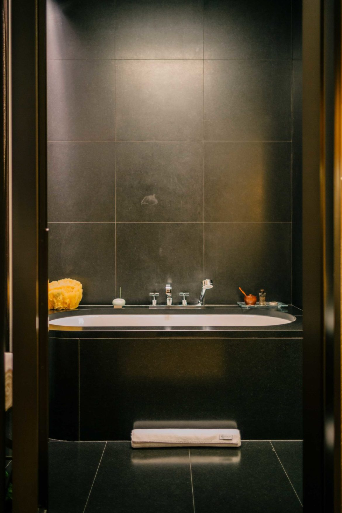 Hotel Bulgari Milano offers oversized bathtubs with bath salts and incense along with tea to start your visit right, The Taste Edit
