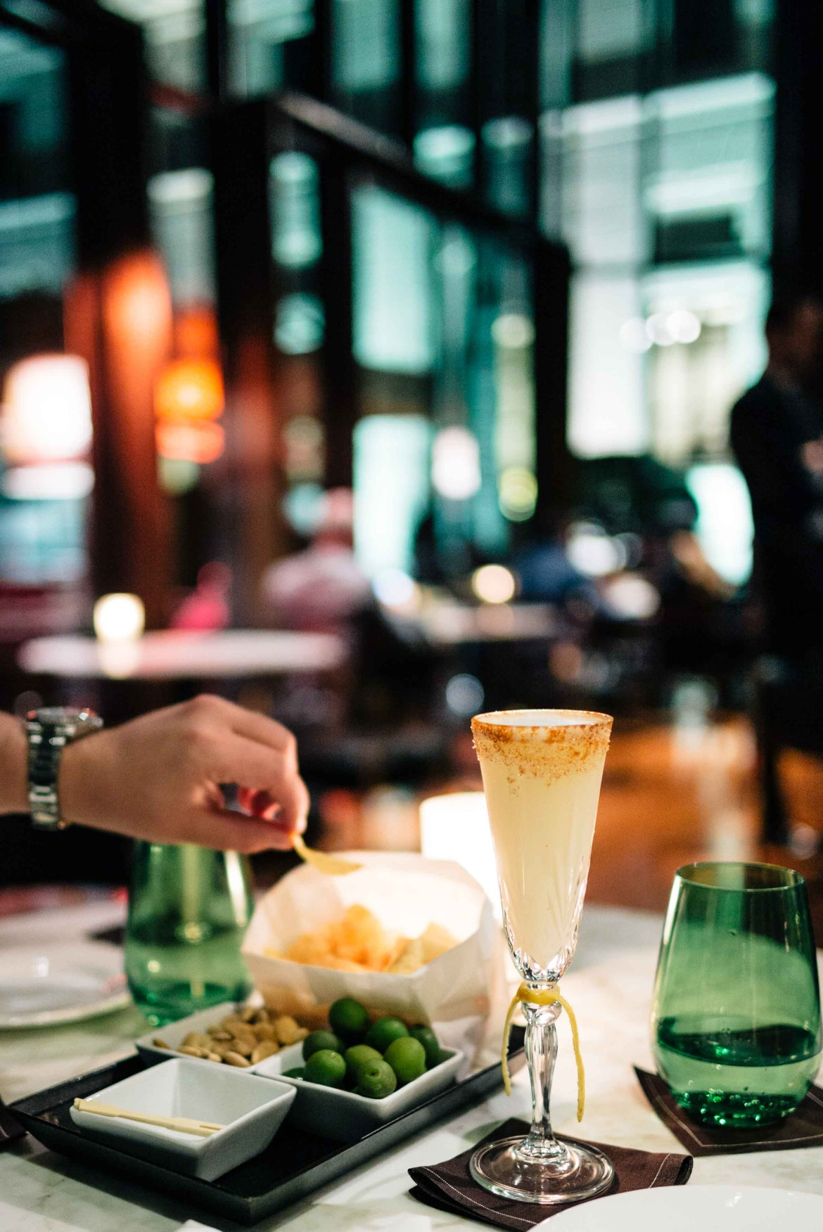 You'll find the best cocktails in Milan at the Hotel Bulgari Milano bar, The Taste Edit