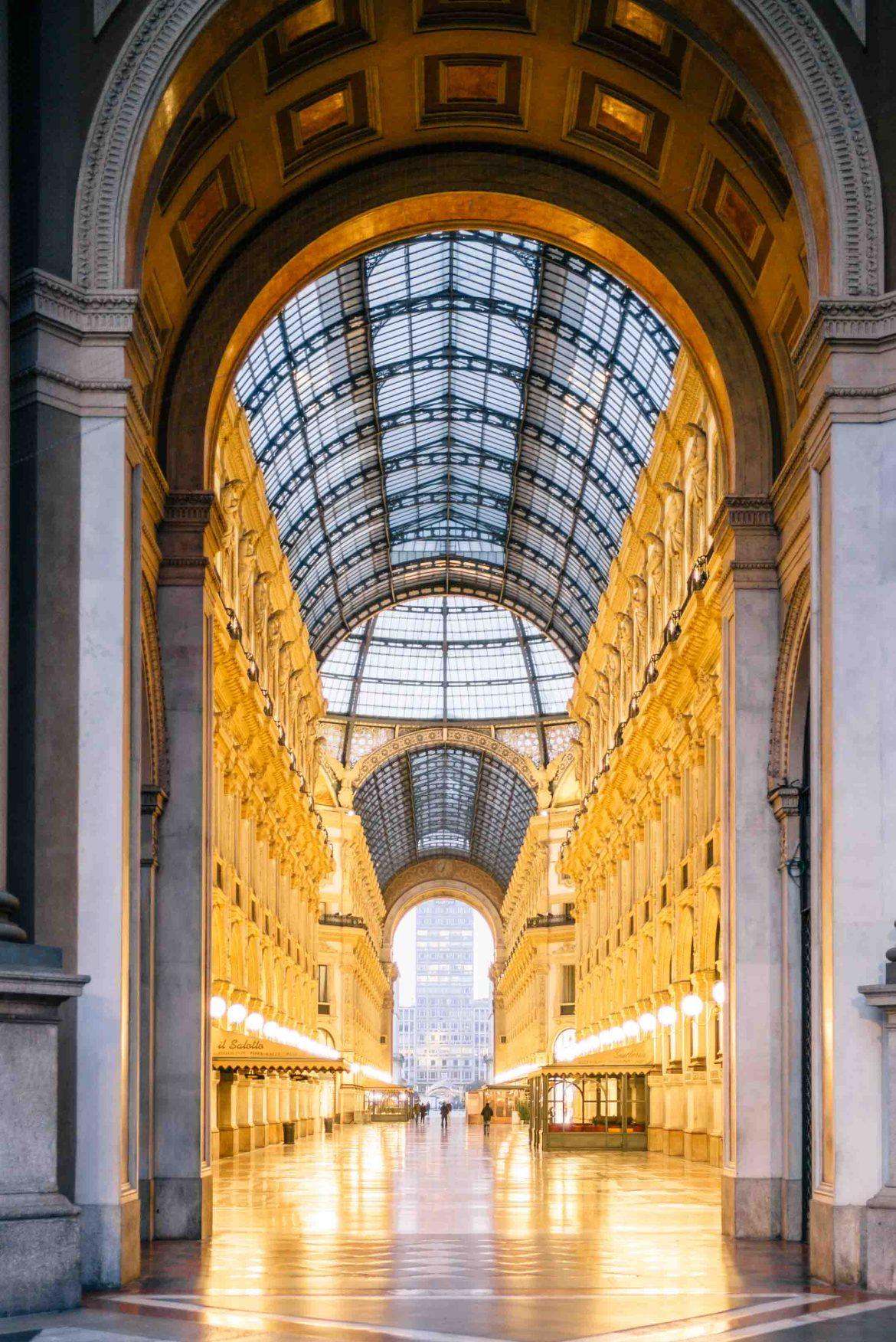 Visit the galleria vittorio emanuele in Milan Italy, The Taste Edit