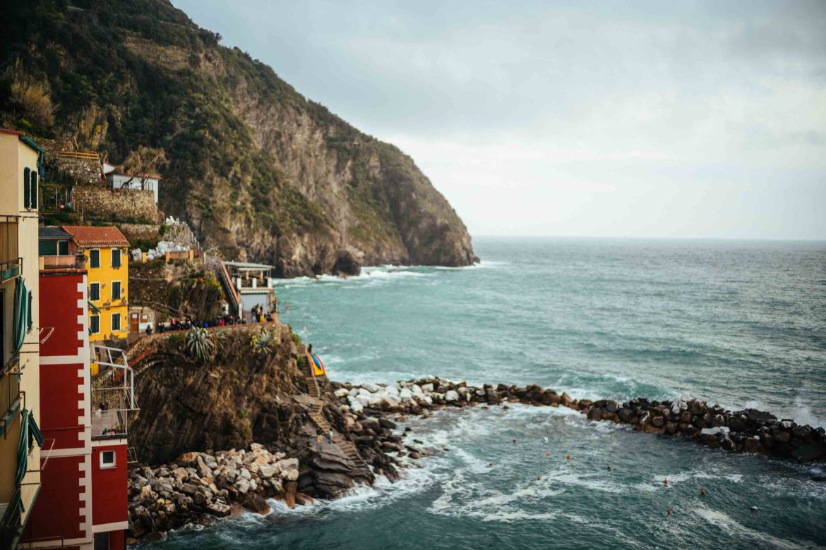 Riomaggiore in Cinque Terre is one of the most popular vacation destinations in Italy, The Taste Edit recommends finding places that are different and local during your trip.