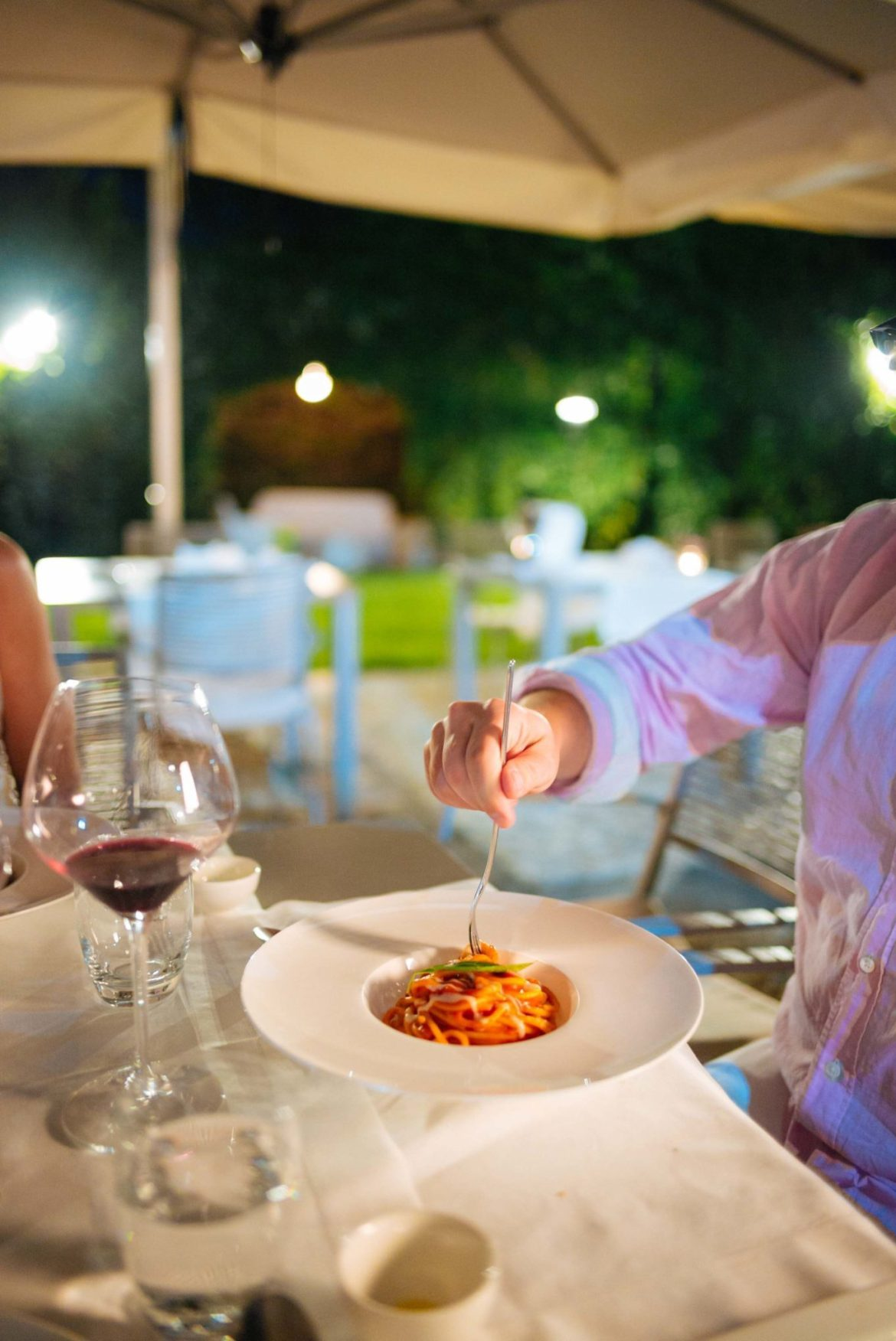 Fish and pasta and more at the best restaurants in italy, at DonnaCarmela restaurant in Sicily