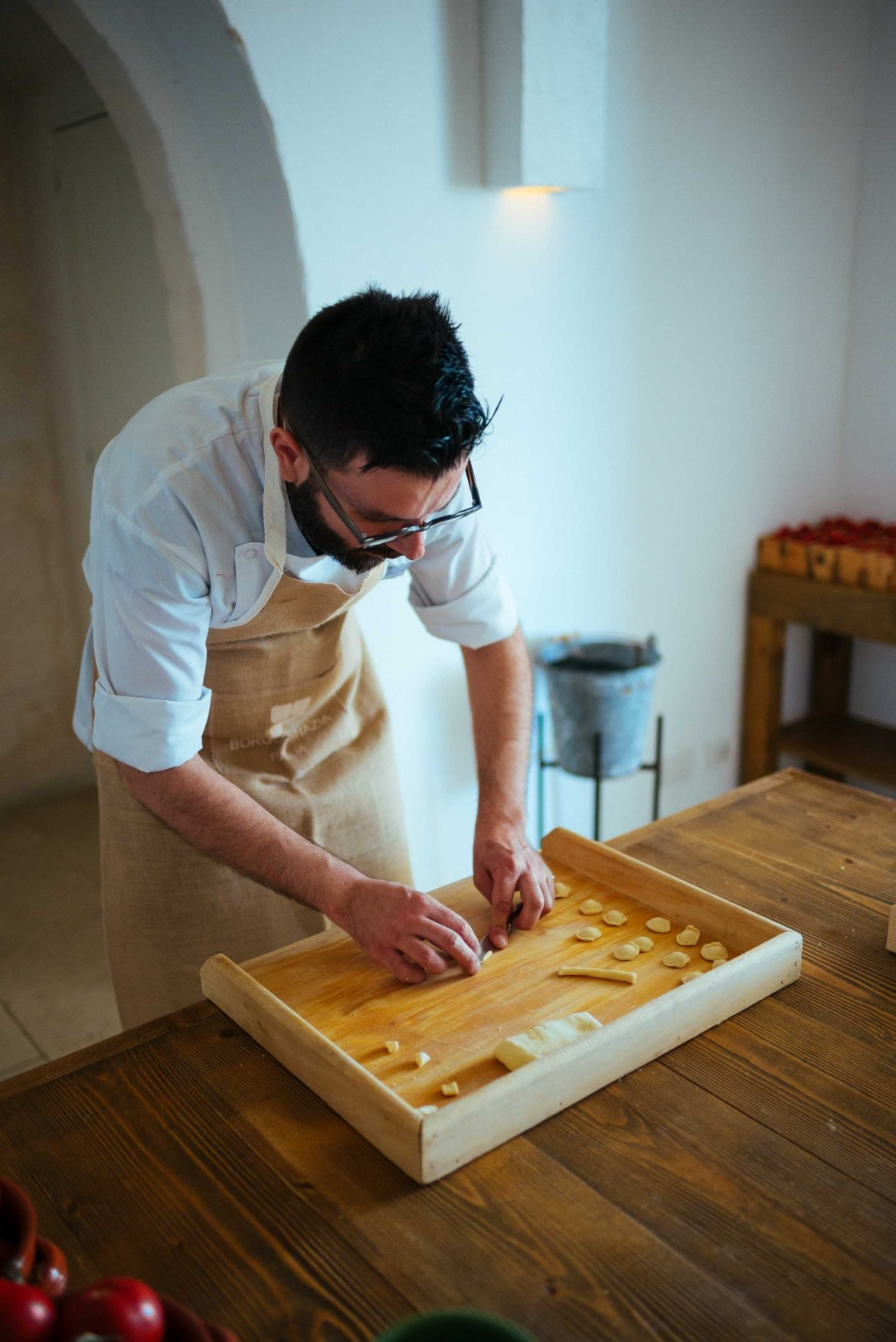 the taste edit learns how to make pasta in puglia by hand.