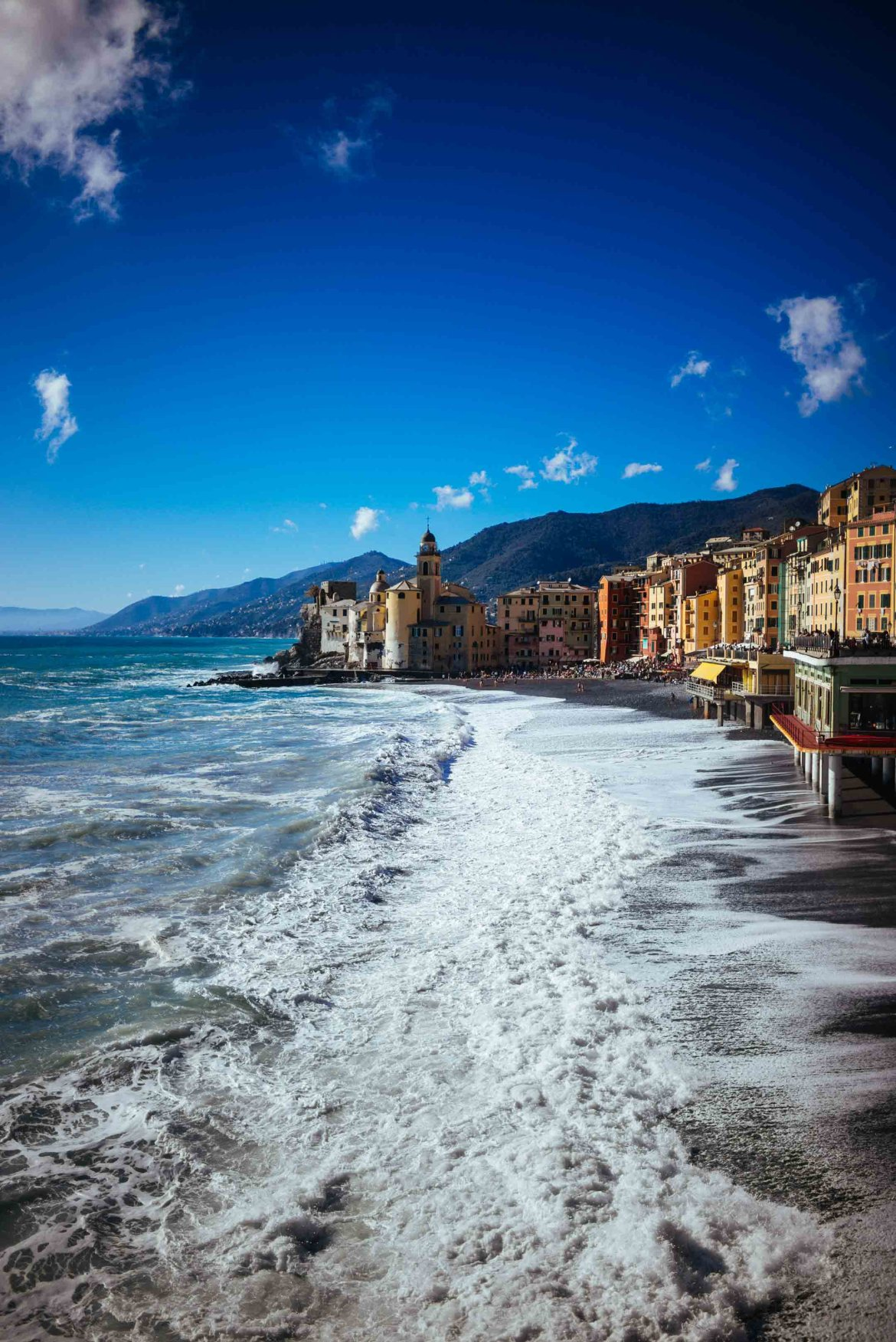 The Taste Edit recommends that you visit this Italian Beach town that no one knows about - Camogli, Italy.