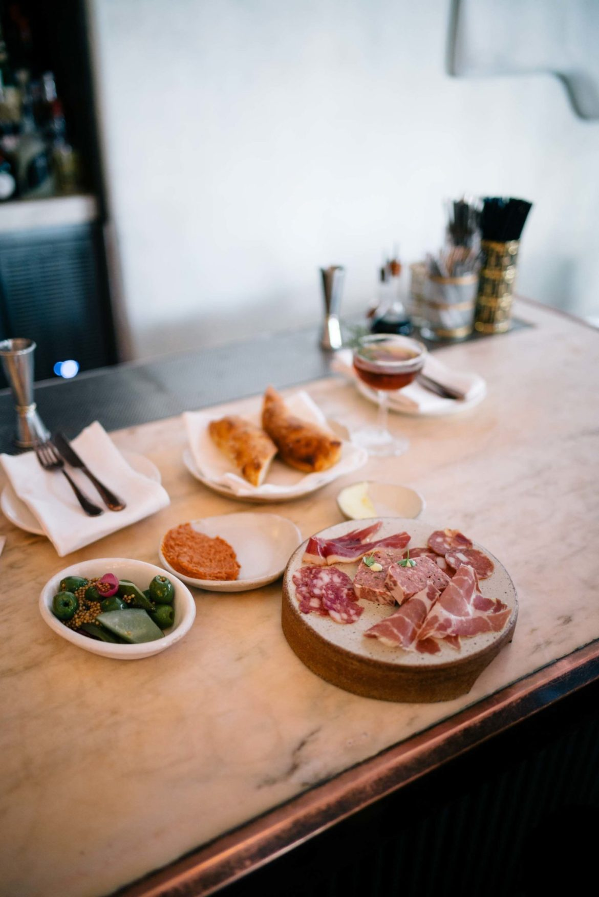 For the best cocktails in Hollywood visit Chef Curtis Stone's Gwen and try the homemade charcuterie from the butcher shop.