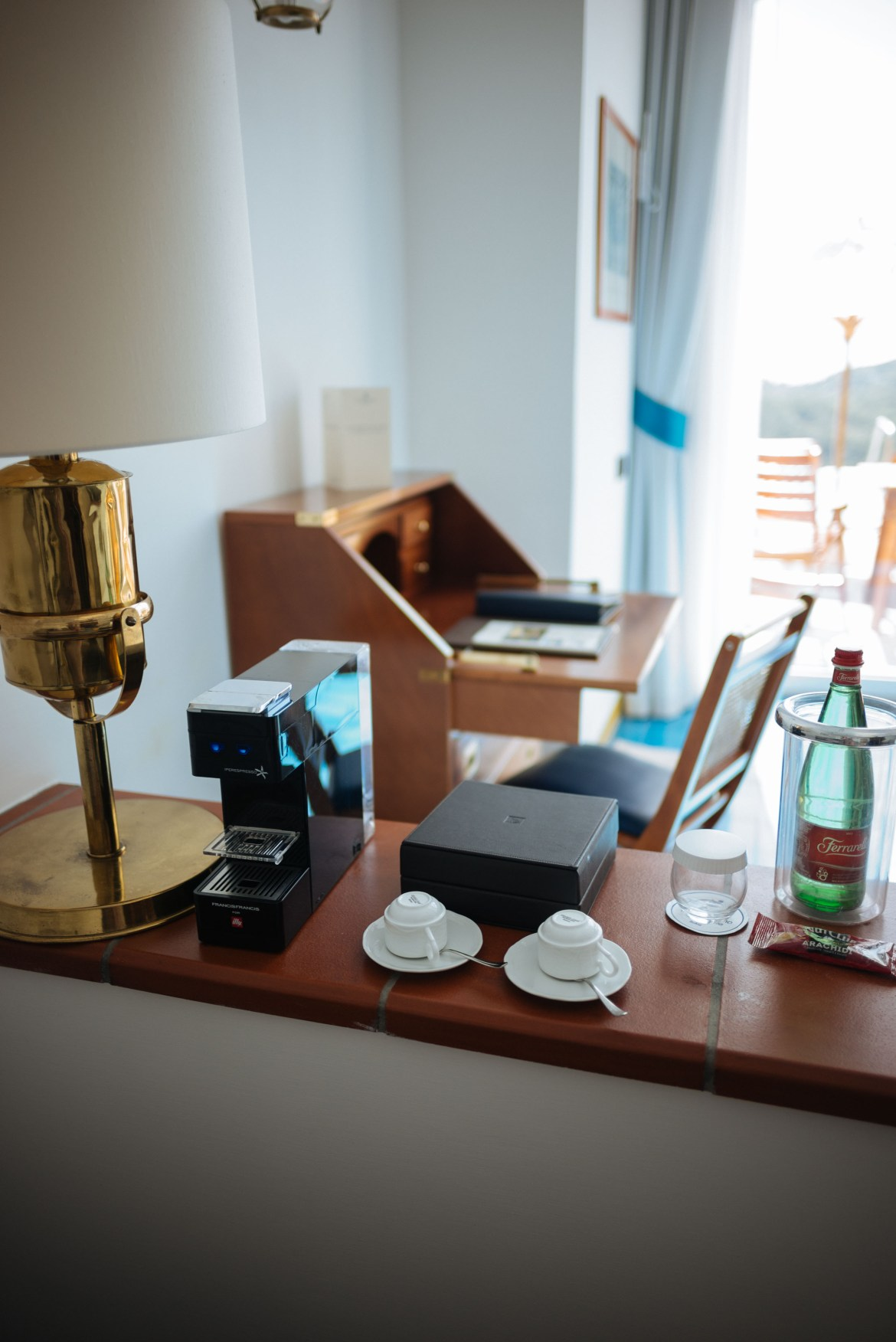 Start your day with espresso at the San Montano Resort & Spa   thetasteedit.com #italy #travel #hotel #spa