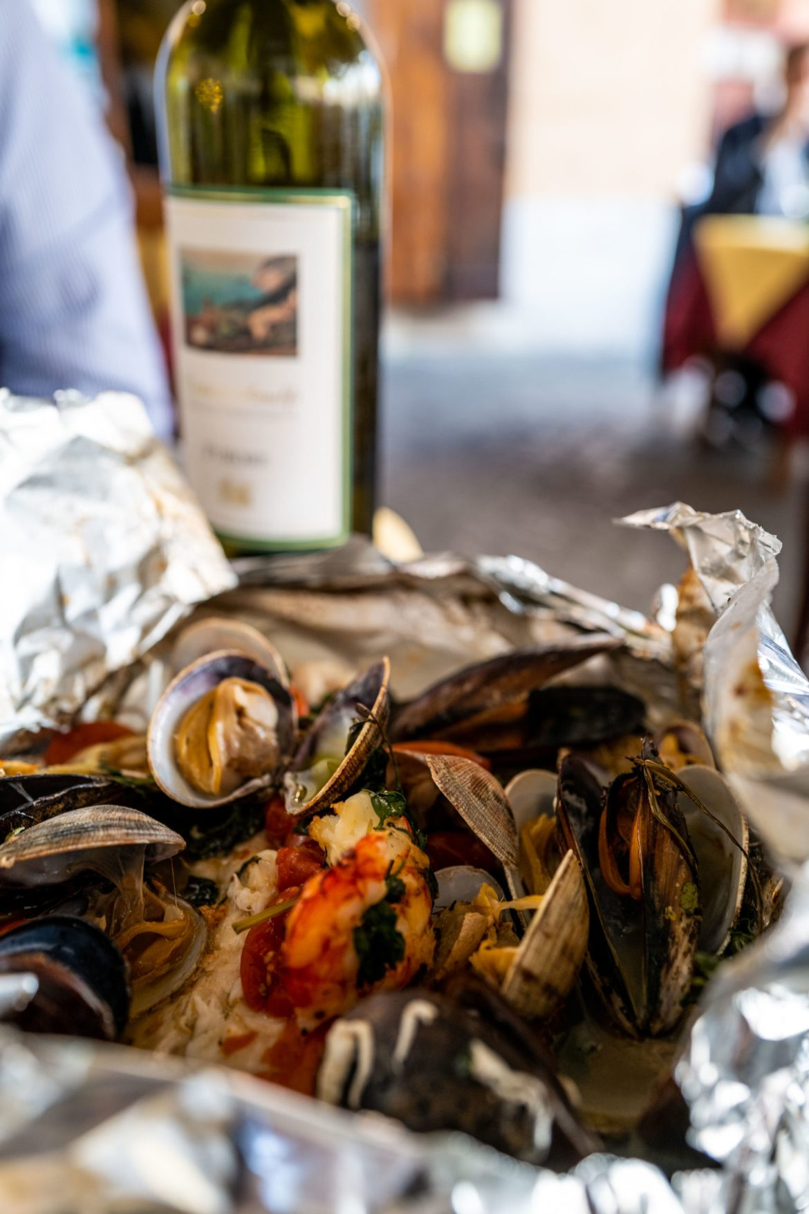 Find some of the best rustic seafood dishes at Trattoria da Teo, The Taste Edit #rome #seafood
