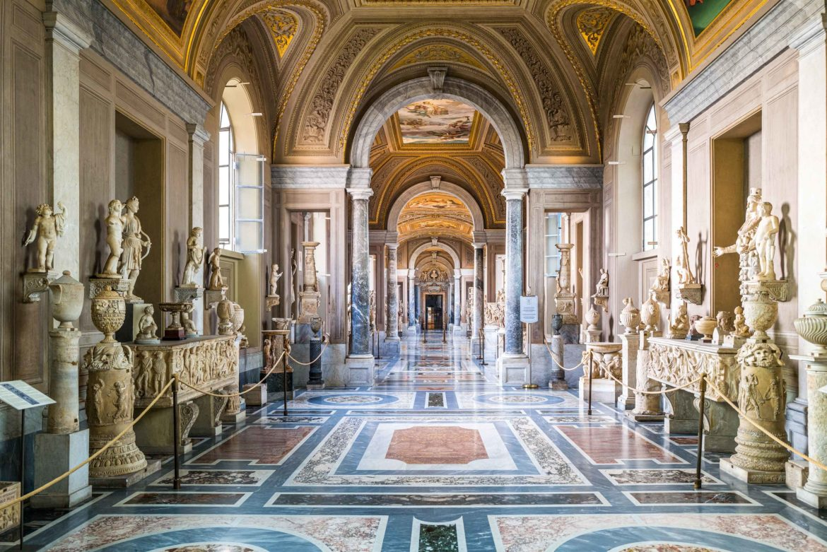 Visiting the Vatican Museum without tourists, The Taste Edit #rome #italy #museum #vatican