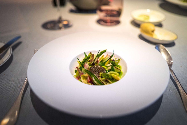 The Artful Vibes by Gerhard Richter Inspired Menu at Au Pavillon Zurich's Fine dining restaurant at Baur au Lac Luxury Zurich Hotel #switzerland #restaurant