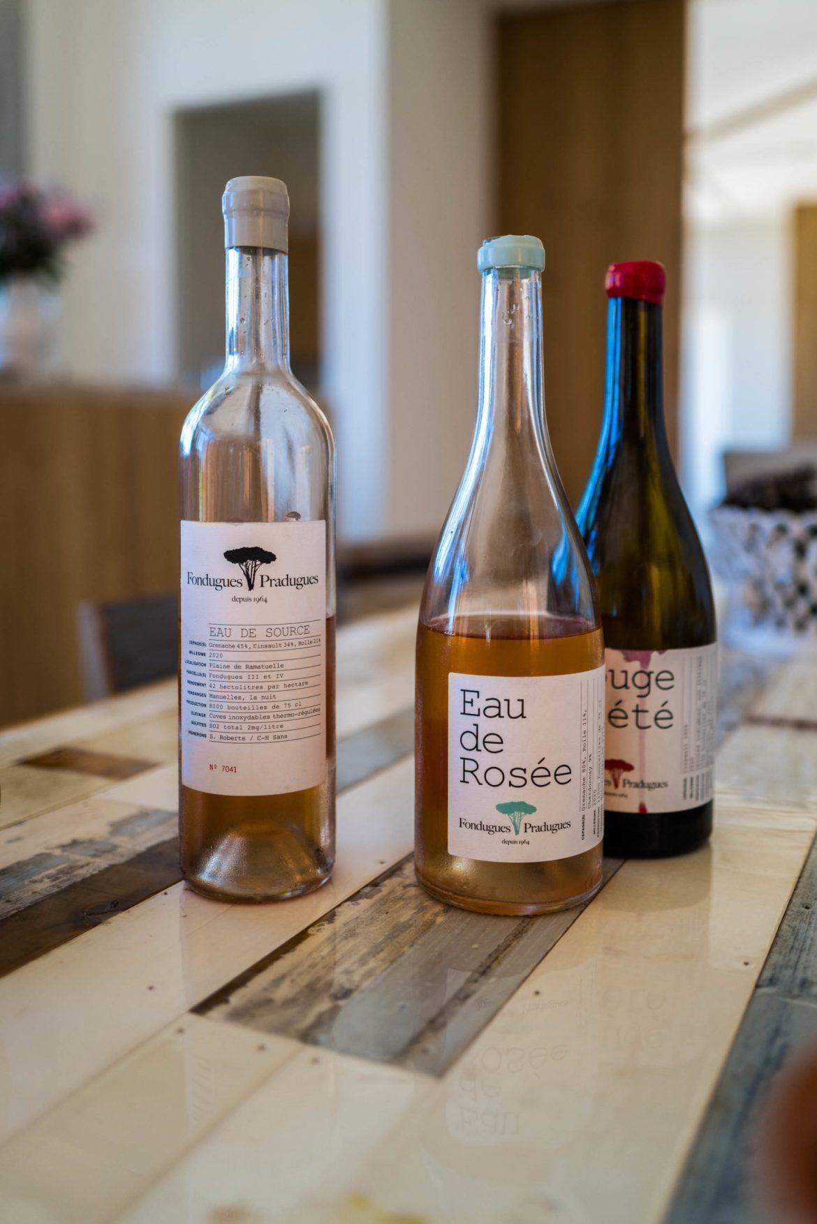 Natural winery in St Tropez France at Fondugues Pradugues
