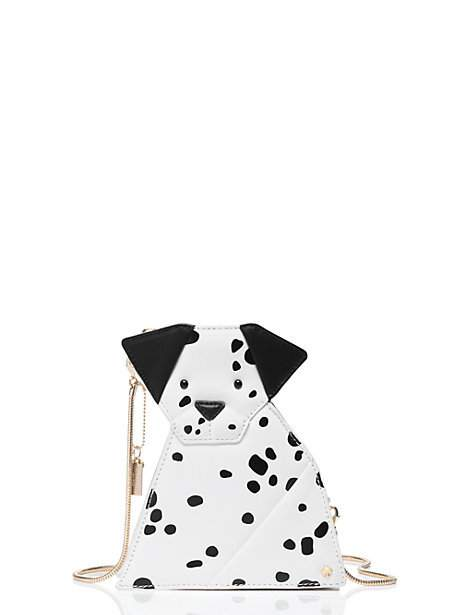 This rose-colored glasses origami dalmation...a spotty pal who will hold your (albeit tiny) stuff for you!