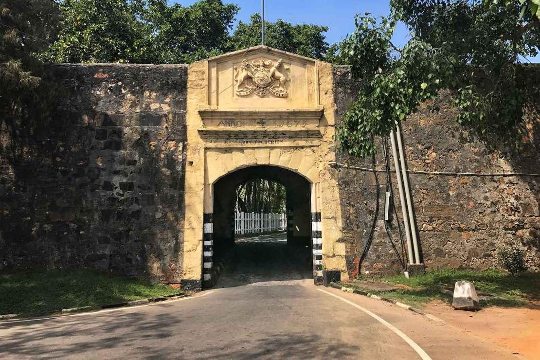 Fort Frederic, Trincomalee, Sri lanka
