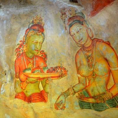 Frescoes, Sigiriya