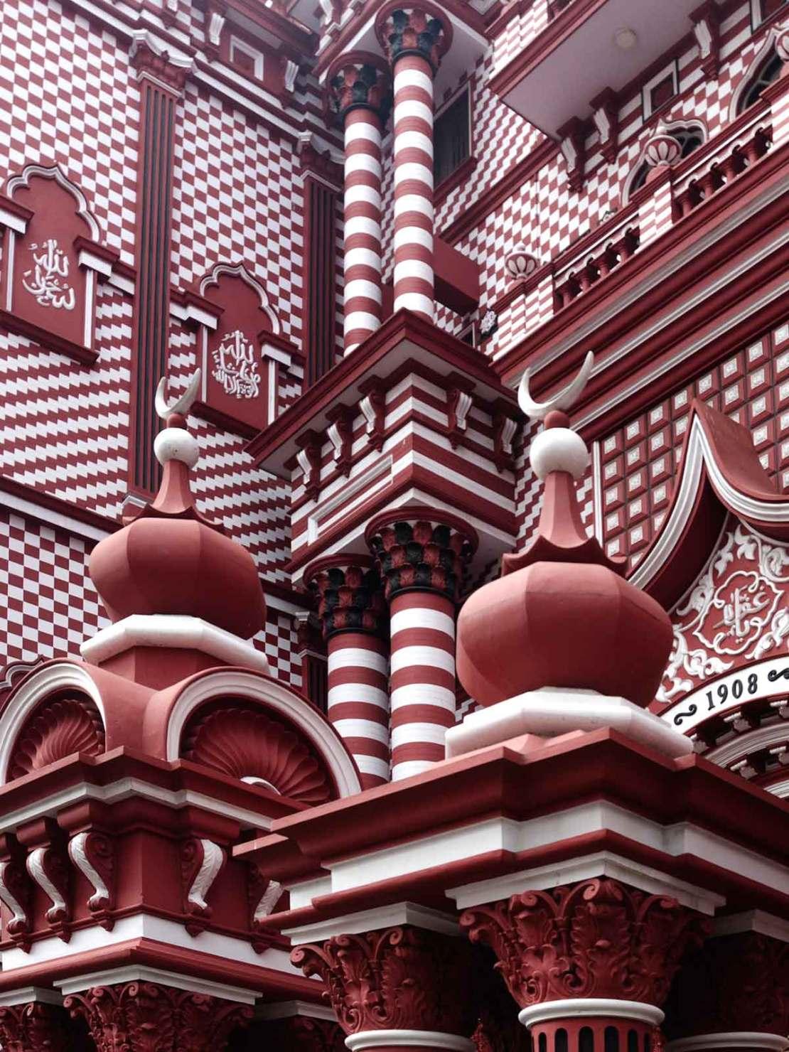 Kolombo, meczet Jami-Ul-Alfar
