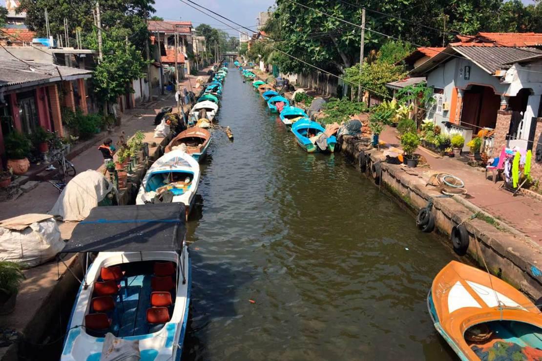 Hamilton Canal, Negombo, Sri lanka