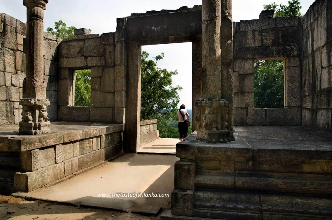 Wejście do świątyni, Yapahuwa,Sri Lanka