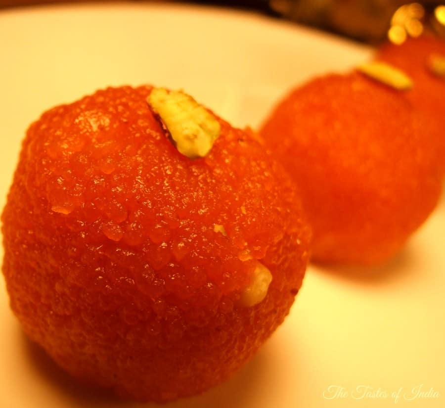 Motichoor Ladoo recipe - how to make motichur laddu recipe