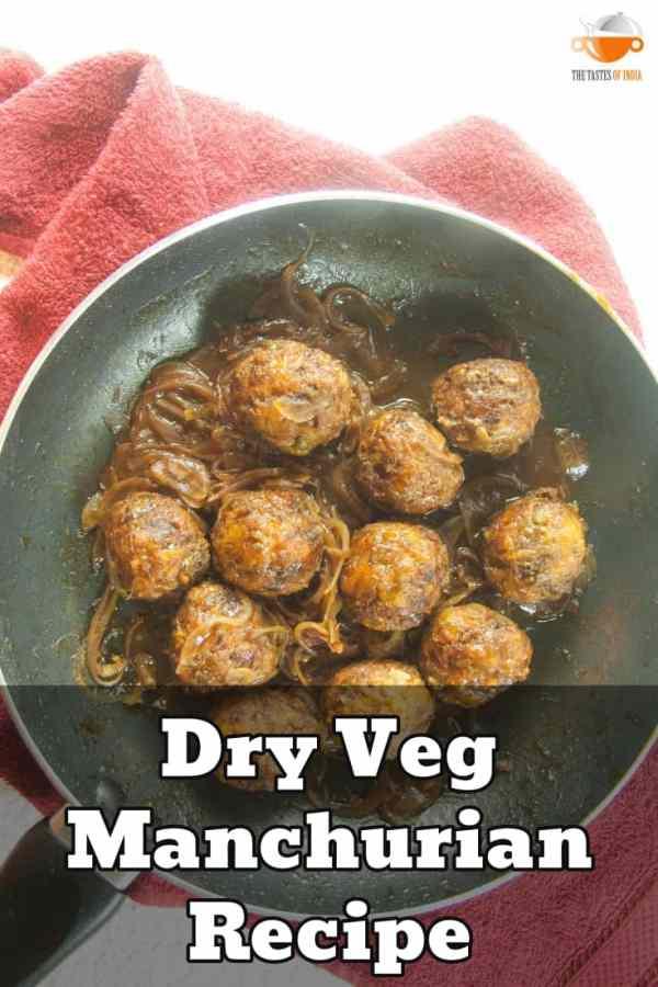 dry veg manchurian