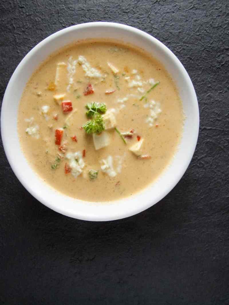 low carb cottage cheese coconut gravy recipe