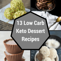 13 Low Carb Keto Dessert Recipes to Satisfy Your Sweet Tooth