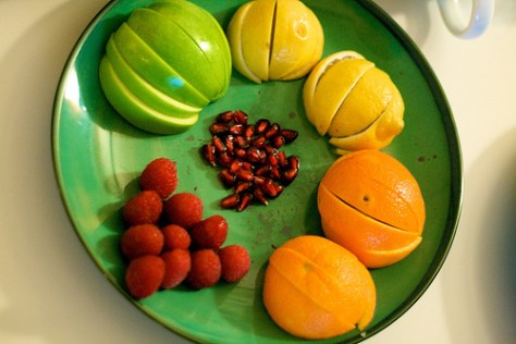 Flavor Tripping - a sampling of fruits