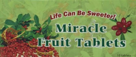 miracle berry tablets - flavor tripping