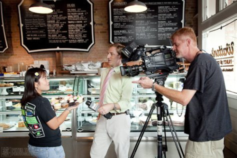 Austin Cupcake Smackdown Pre Party - another Interview w/ Jennie Chen