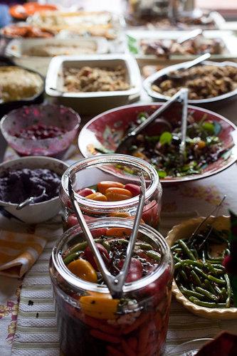 Tastingbuds Thanksgiving Spread
