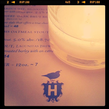 Haddington's Menu and Logo