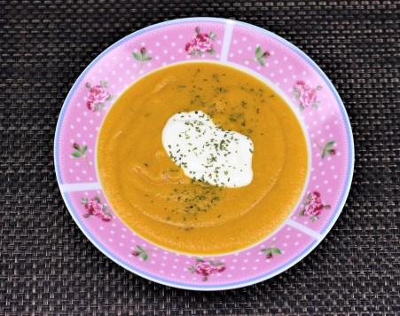 Мързелива зеленчукова крем супа