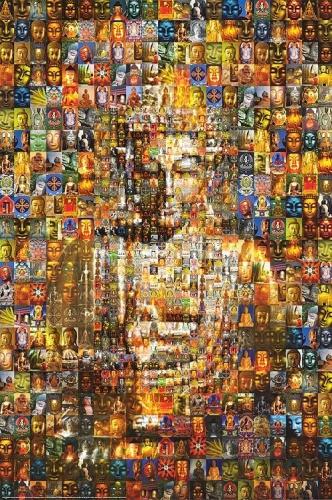 Buddha Mosaic