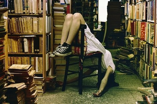 Angry Legs, Angry Heart & Finding Metta in a Book Store.