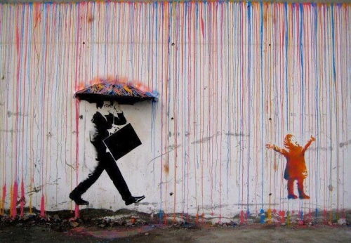 child street art