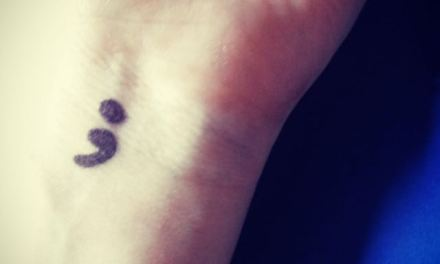 A Semicolon Instead of a Full Stop.