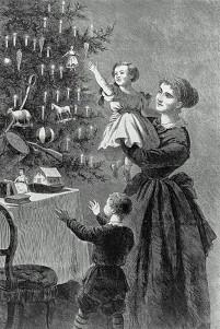 Illustration for Harper's Bazaar, published January 1, 1870
