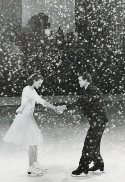 ice skating couple