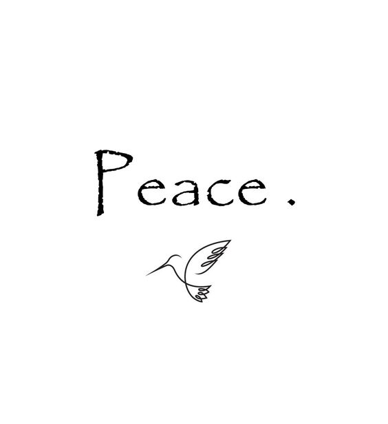 Dove and Peace