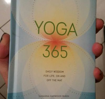 Yoga 365: Daily Wisdom for Life, On And Off The Mat {Book Review}