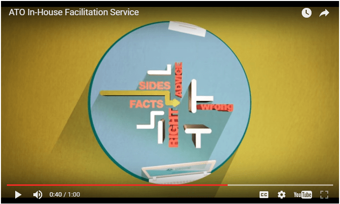 ATO in house facilitation video