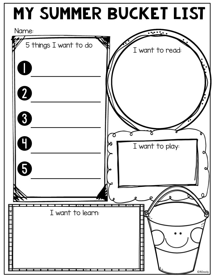 End Of The Year Coloring Pages For Kindergarten : Summer resource round up the teacher bag