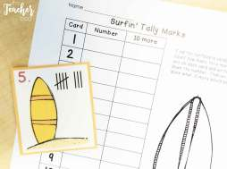 Summer Tally Marks