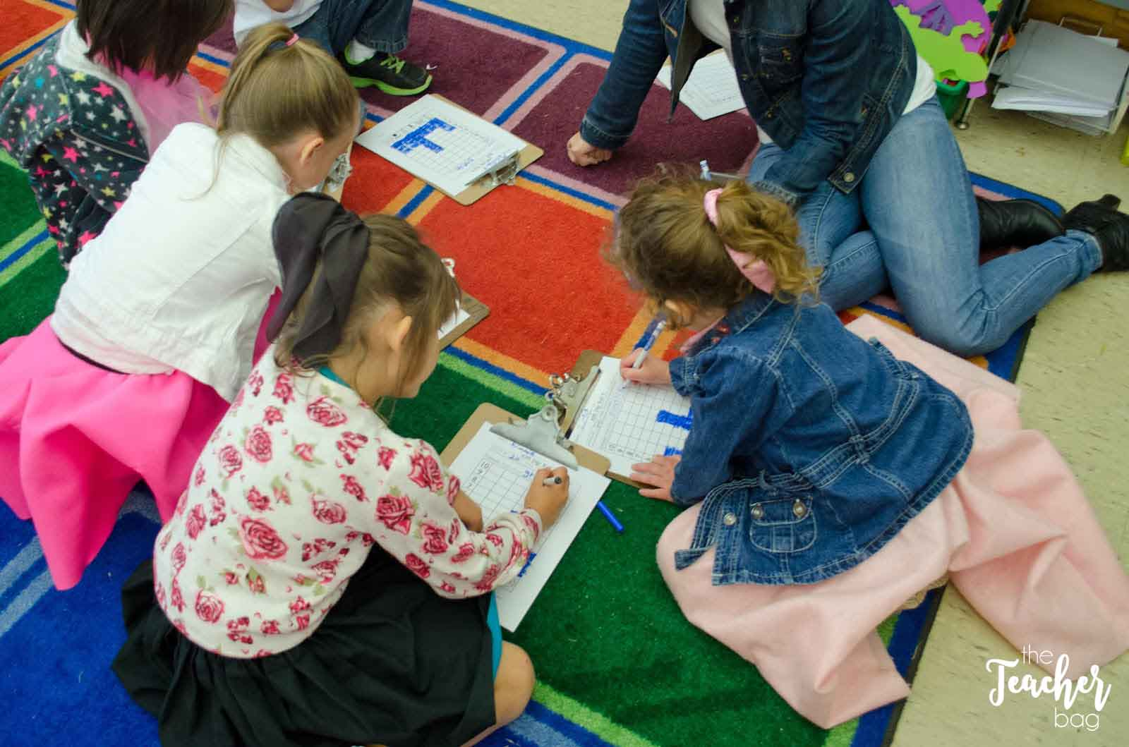 50th day of school- roll, graph and do math activity