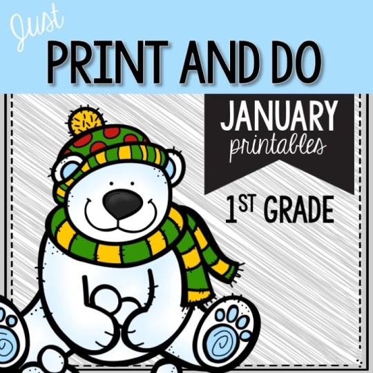 January math and literacy pintails